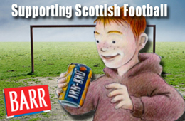 Barr's Irn-Bru - Supporting Scottish Football