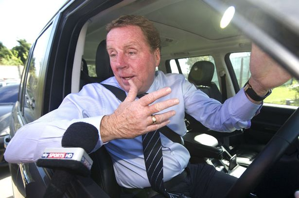 Harry+Redknapp+arriving+at+the+clubs+tra