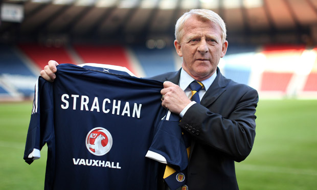 Gordon Strachan Scotland manager —