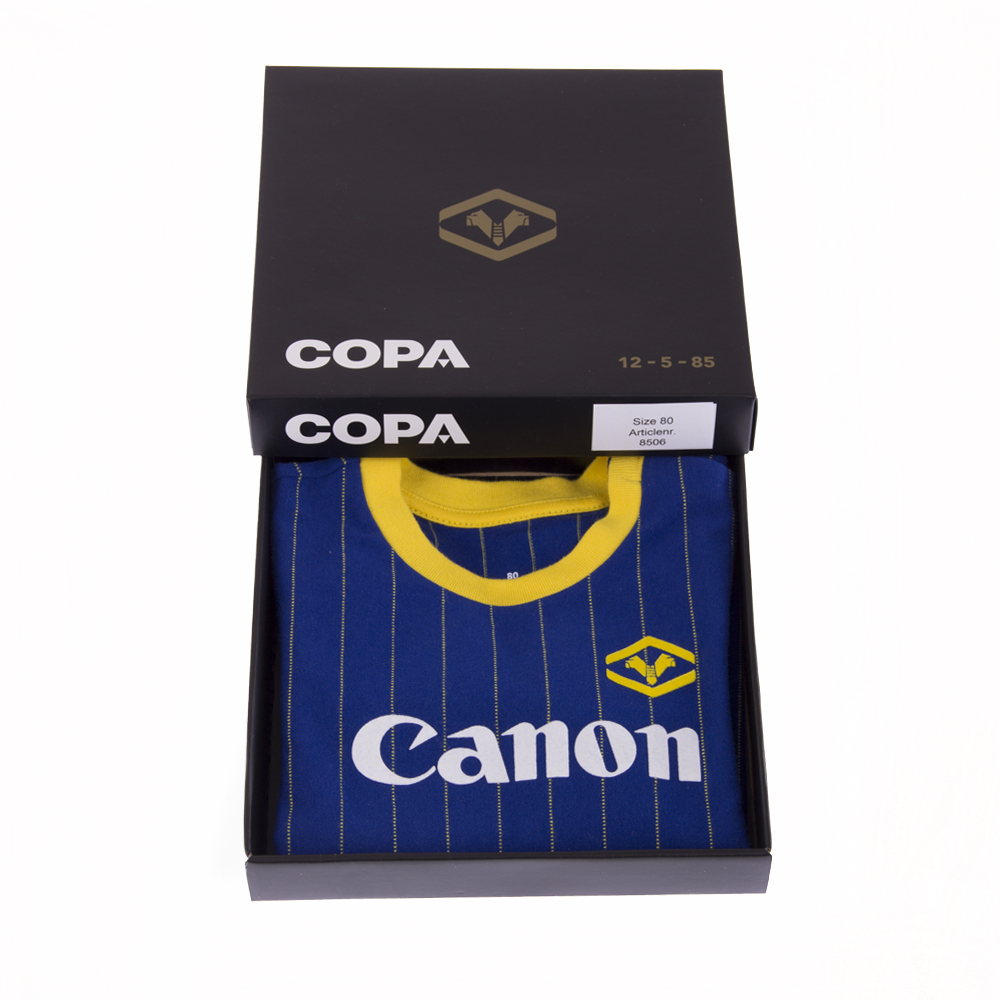 Hellas Verona FC 1984-85 box
