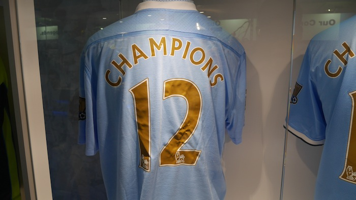 2012 EPL Champions
