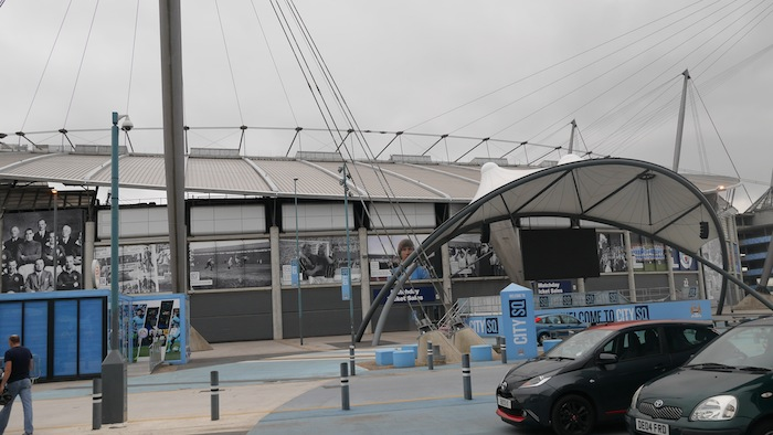 Etihad Stadium Outside