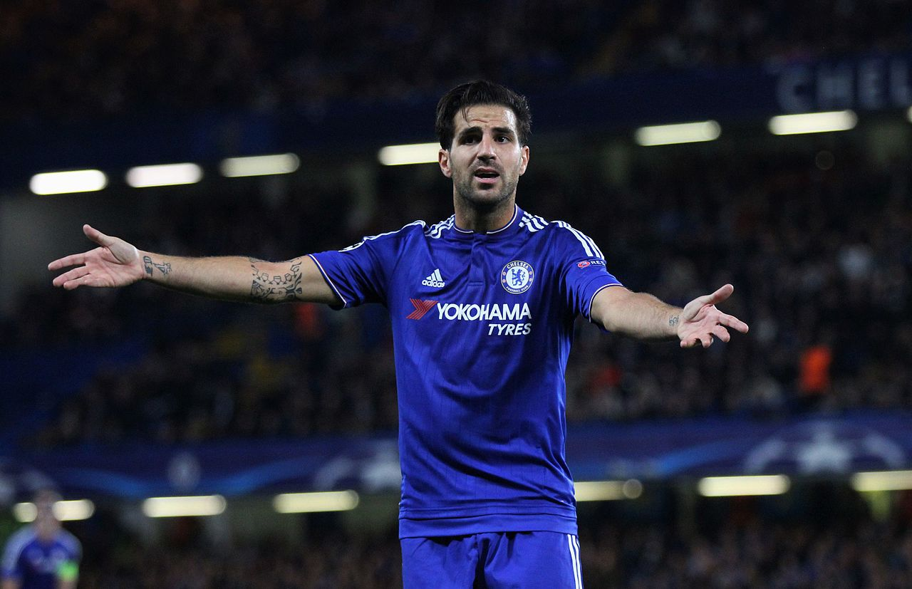 Image result for Chelsea Cesc Fabregas