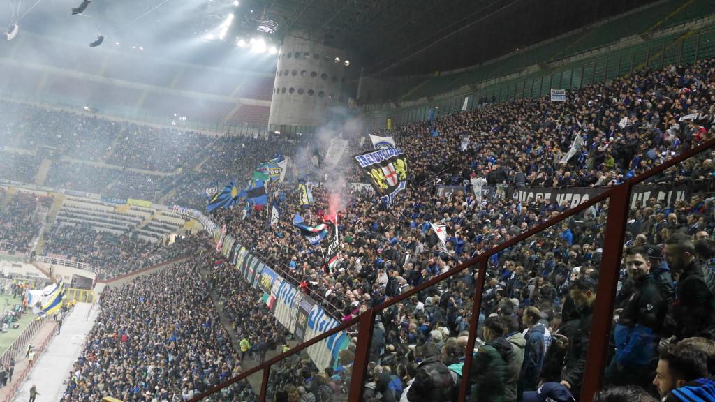 San Siro Inter Fans